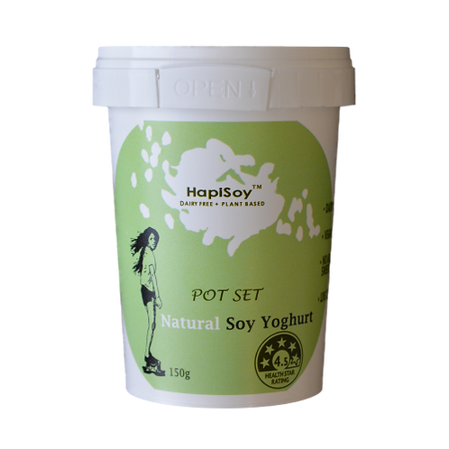 HapiSoy's Natural Soy Yoghurt