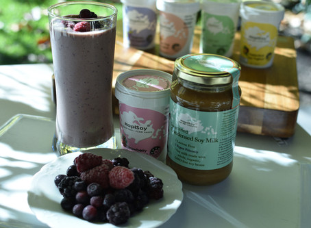 5 Reasons HapiSoy's Plant-based Yoghurts are GOOD FOR YOU