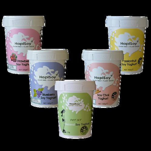 HapiSoy's Soy Yoghurts