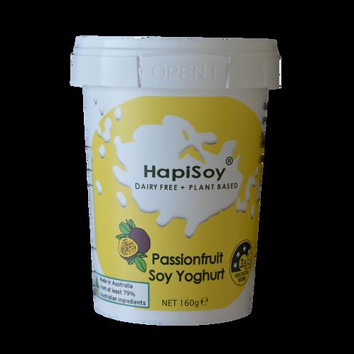 HapiSoy's Passionfruit Soy Yoghurt