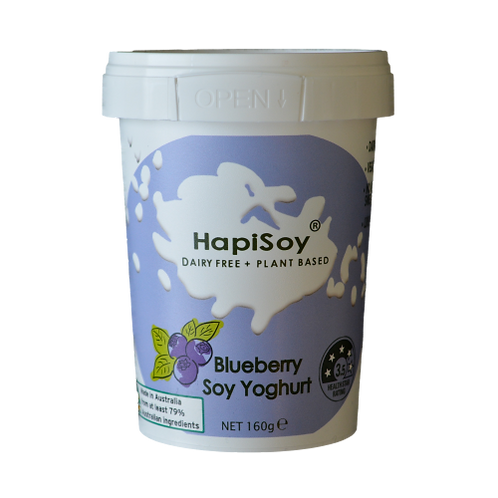 HapiSoy's Blueberry Soy Yoghurt