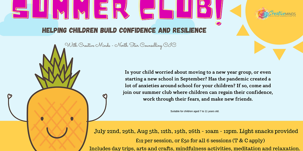 Summer Club - 7 to 11 year olds