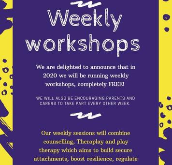 New Weekly Workshops