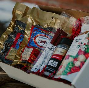 Popcorn & Jerky Box