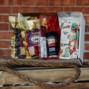 Jerky & Popcorn Gift Box