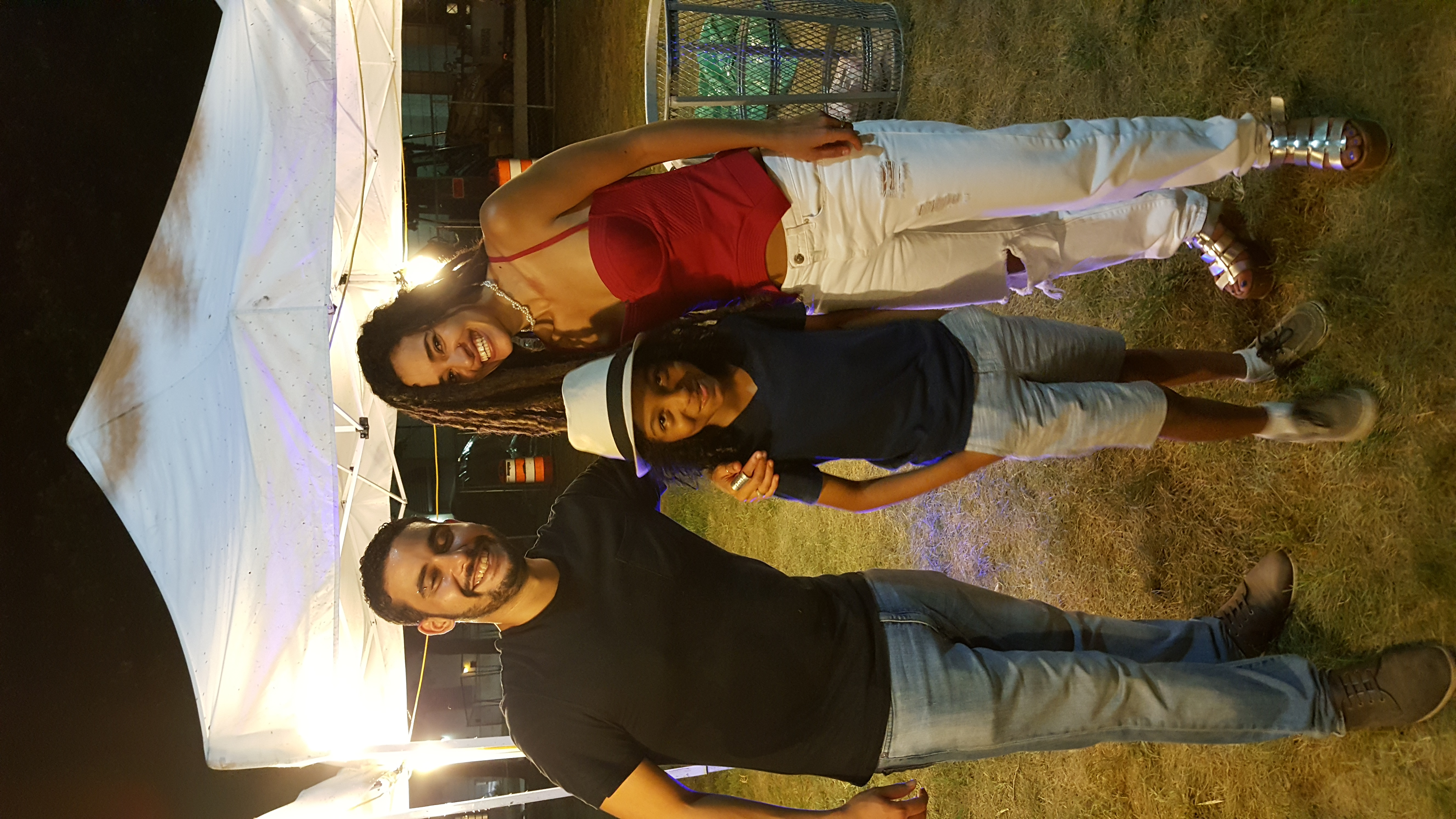 with Calma Carmona & Carlos Mercader