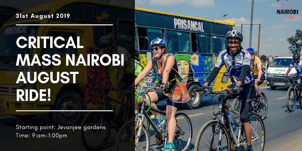 Critical mass Nairobi August Ride