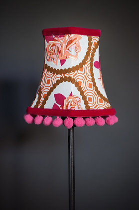 Vintage Rose candle lampshade