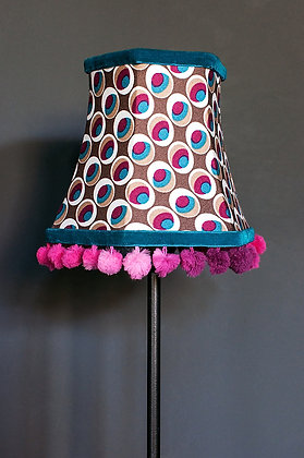 Peacock Eye candle lampshade