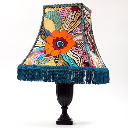 Maude Deco hard-sided square empire lampshade