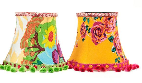 Botanica candle lampshades