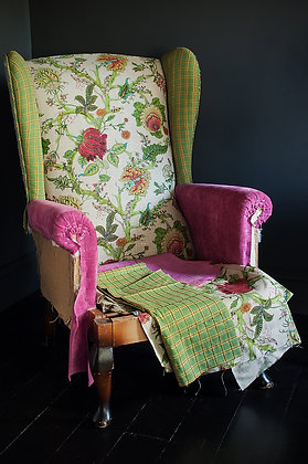 Kahlo Wingback Upholstered Chair