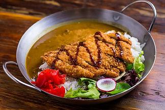 Japanese pork loin katsu curry