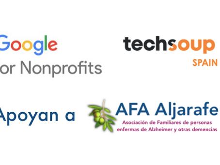 Google y Techsoup apoyan la labor de AFA Aljarafe.