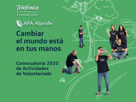 """La Fundación Telefónica impulsa el proyecto """"A Galope contra el Alzheimer"""" de AFA Aljarafe."""