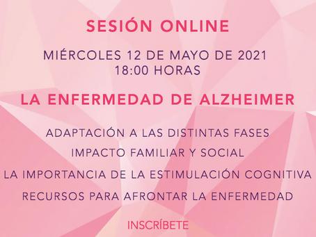 """Sesión Online: """"Alzheimer, impacto y adaptación"""""""