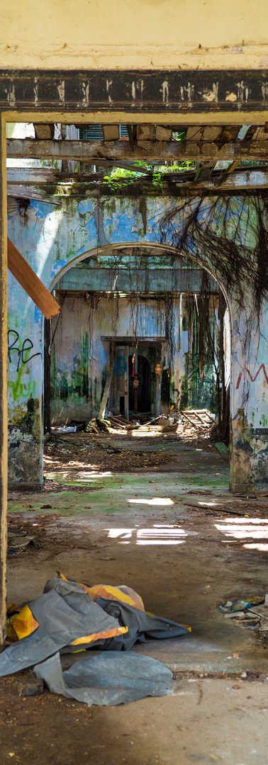 Etablissement abandonnée, Malaisie