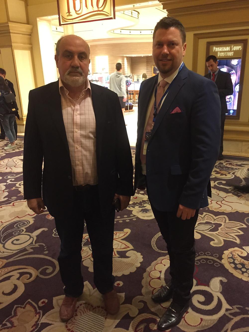 Nassim Taleb & Arthur Salzer at SALT Conference