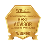 2018 Wealth Professional Awards - Advisor of the Year - Alternative Investments