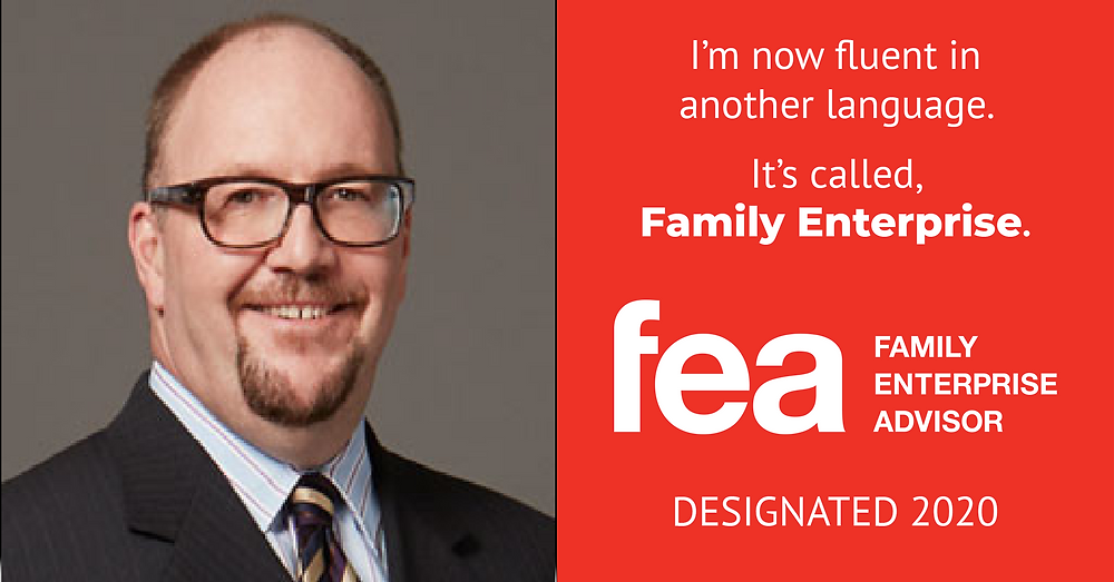 Gregory Lawrence awarded FEA designation