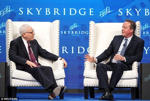 David Rubenstein interviews David Cameron at SALT Conference