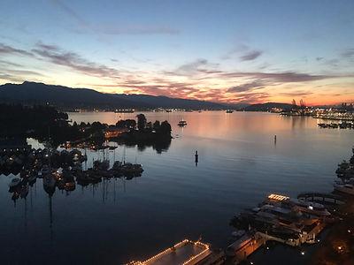 Vancouver Harbour Sunrise .JPG