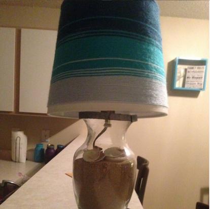 Custom Ocean Lamp