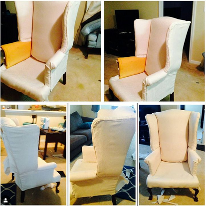 Re-Creating Dining Chairs