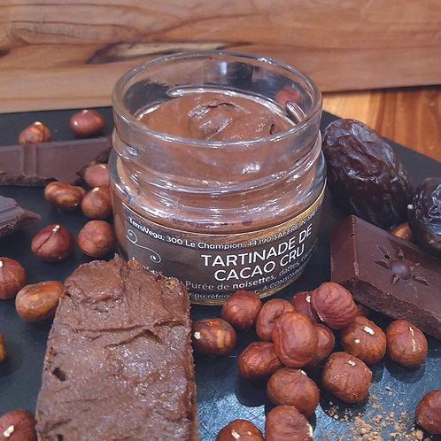Tartinade de cacao cru
