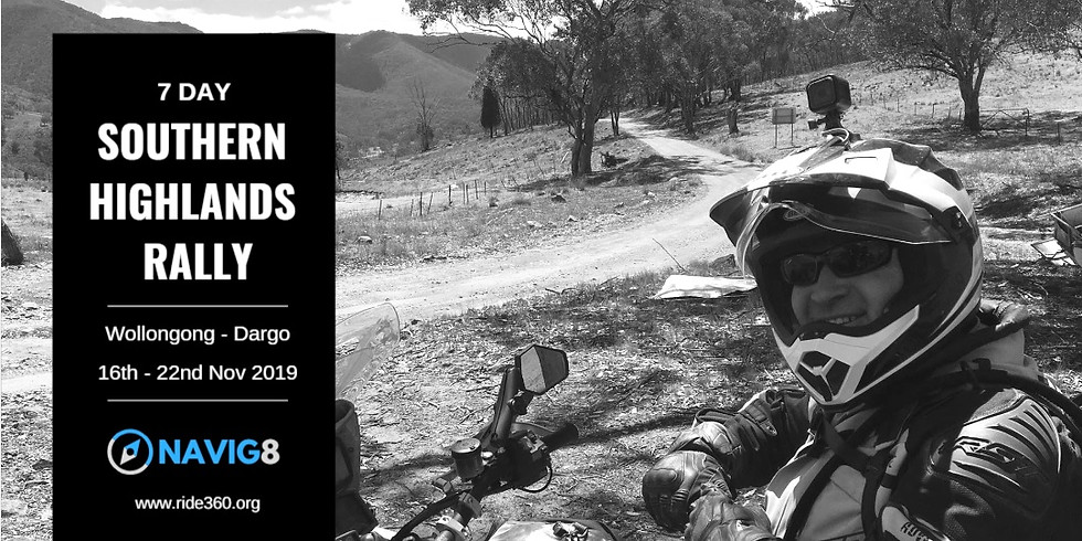 7 Day Southern Highlands Adventure Rally