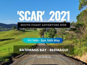 SCAR 2021 - South Coast Adventure Ride