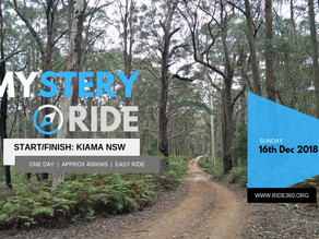Mystery Adventure Ride   16th Dec 2018