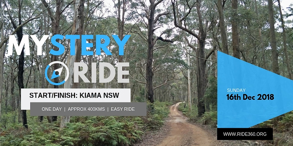 ONE DAY MYSTERY RIDE | 16th DEC 2018