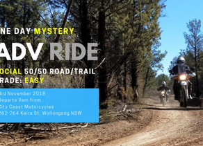 Mystery Adventure Ride | 3rd Nov 2018