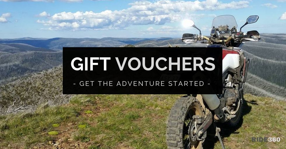 Get the adventure started with a RIDE360 Gift Voucher