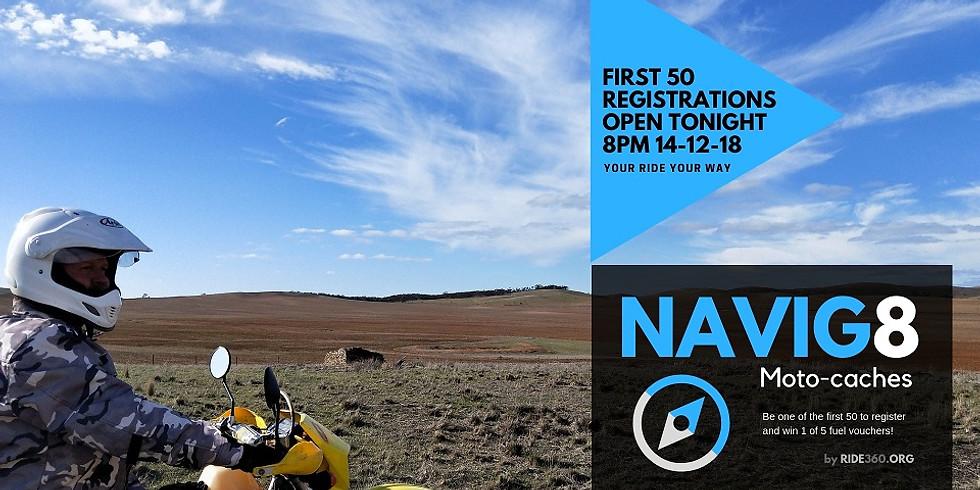 NAVIG8 MotoCache | 2019 Registration