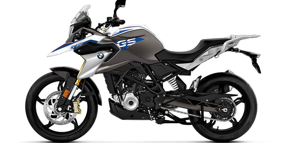 BMW G 310 GS Prize draw