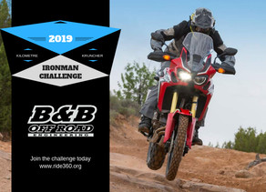 DRZ400 sets the bar high for the Ironman challenge.