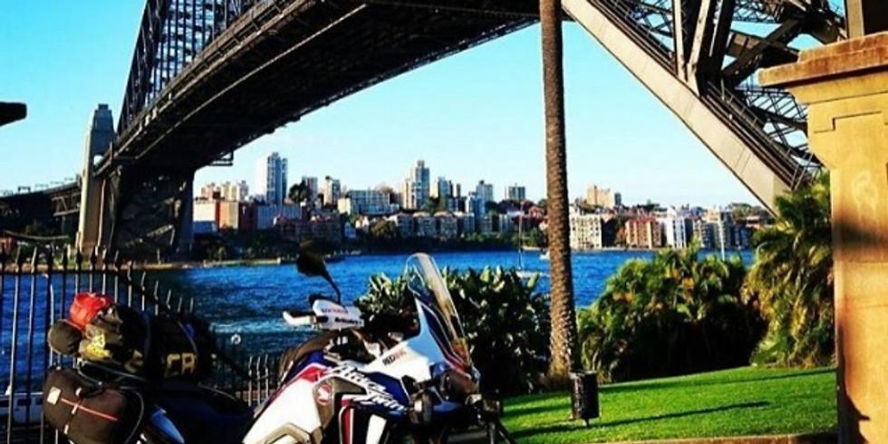 The start  - Sydney to Avoca