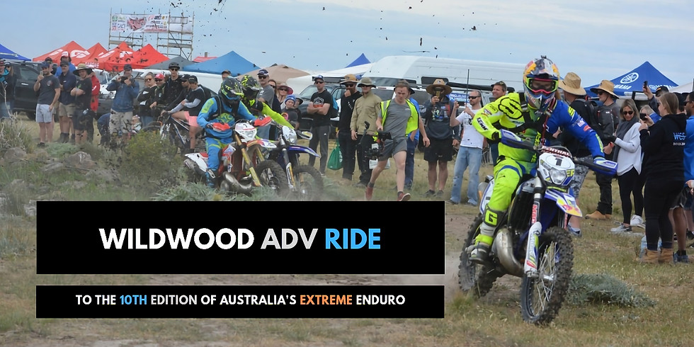 Ride to Wildwood Extreme Enduro | 6th-8th Nov 2019