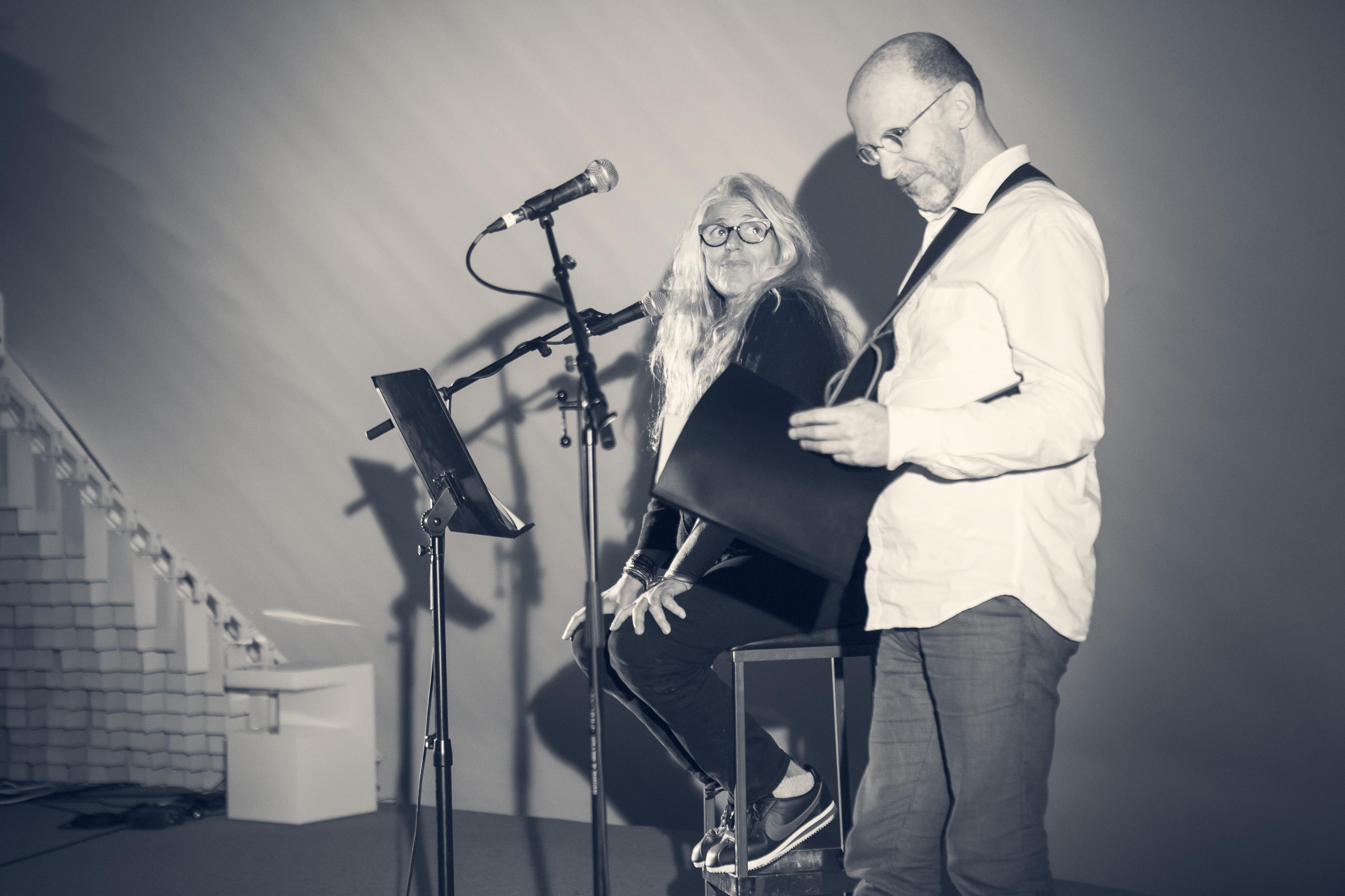 Brigitte Sy et Yann Collette