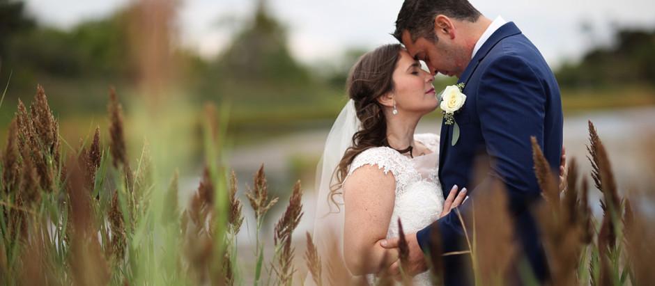 Lauren & Andrew's Wedding at Thompson Island in Boston, MA