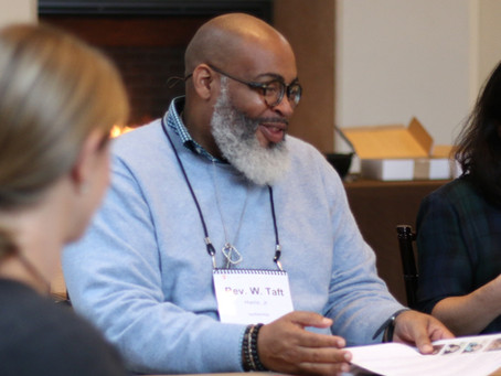 Reimagining the skills of clergy: START Participant Rev. W. Taft Harris