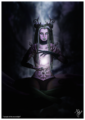 Nymph of the Moonlight