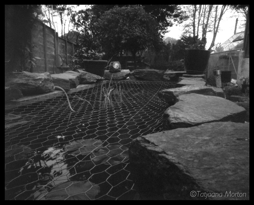 This was taken for the International Pinhole Day in 2015. I started the exposure in early evening and left it for hours. The camera is 5x4 Ilford Obscura.