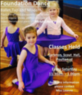 foundation dance face book march april.P