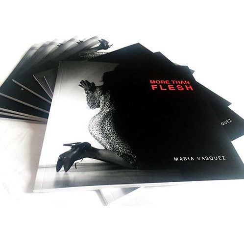 Small Coffee Table Book - More Than Flesh""