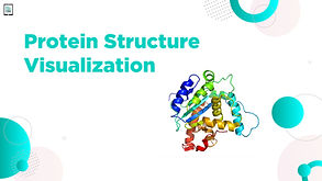 Protein Structure Visualization Main Art