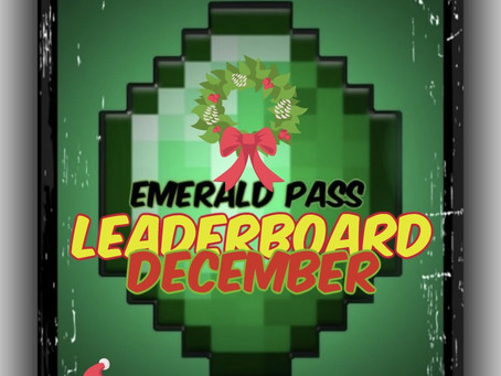 """Emerald Pass"" Contest - December"