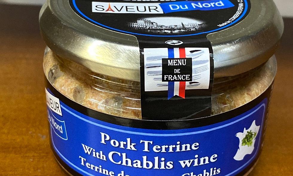 Pork Terrine with Chablis wine